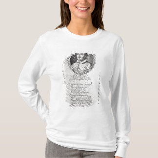 Hieronymus Frescobaldi, engraved by Christian T-Shirt
