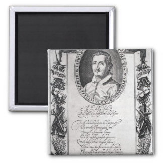 Hieronymus Frescobaldi, grabado por el cristiano Imán Cuadrado