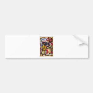 Hieronymus Zane from BL Arundel 156.jpg Bumper Sticker