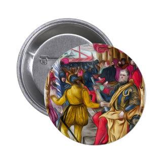 Hieronymus Zane from BL Arundel 156.jpg Pinback Button