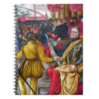 Hieronymus Zane from BL Arundel 156.jpg Spiral Notebook