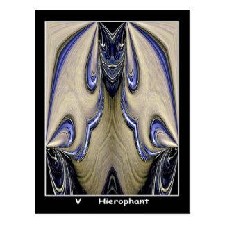 Hierophant Tarot Card Postcard