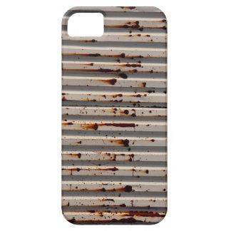 hierro acanalado iPhone 5 protectores