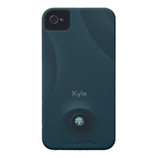 Hierro azul iPhone 4 Case-Mate fundas