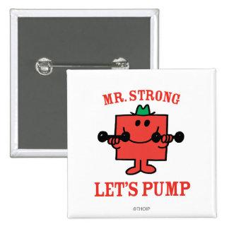 Hierro de bombeo con Sr. Strong Pin Cuadrada 5 Cm