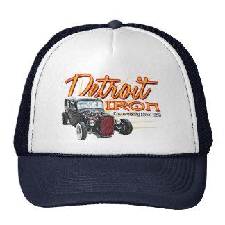Hierro de Detroit Gorra
