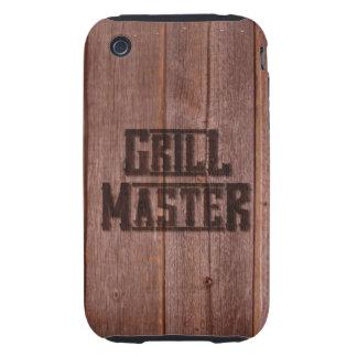 Hierro de marcado en caliente occidental de Grill iPhone 3 Tough Coberturas