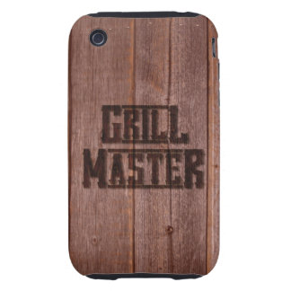 Hierro de marcado en caliente occidental de Grill Funda Though Para iPhone 3