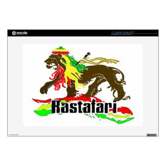 Hierro de Rasta del reggae, león, Zion 2 Skins Para Portátil
