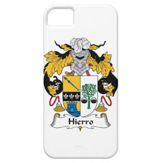 Hierro Family Crest iPhone 5 Cover