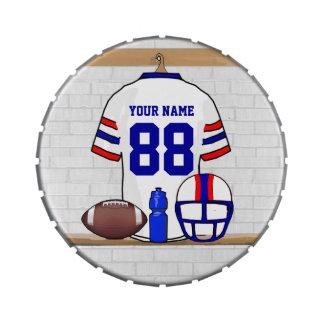 Hierro personalizado WRB de la rejilla del fútbol