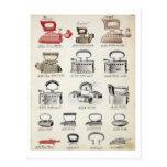 Hierros, de un catálogo comercial de las mercancía tarjetas postales