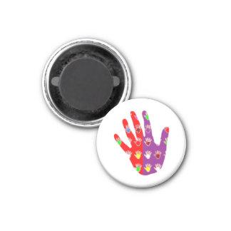 HiFi High5 HighFIVE HAND des cadeaux pour tous 1 Inch Round Magnet