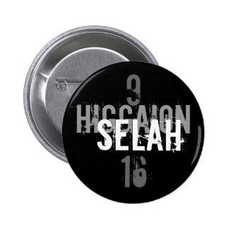 Higgaion, Selah, 9, 16 Pin Redondo De 2 Pulgadas