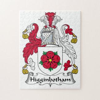 Higginbotham Family Crest Jigsaw Puzzles
