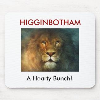 HIGGINBOTHAM Mousepad