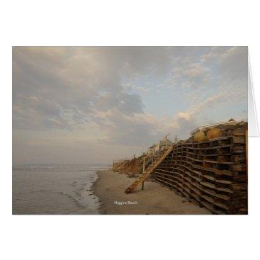 Higgins Beach High Tide Shipwreck Road Card