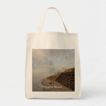 Higgins Beach High Tide Shipwreck Road Tote Bag