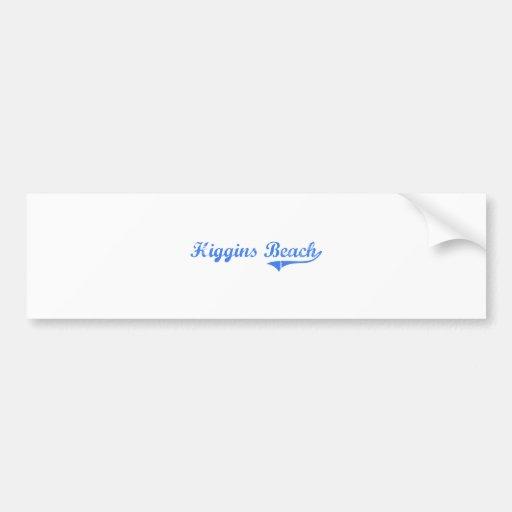 Higgins Beach Maine Classic Design Bumper Stickers