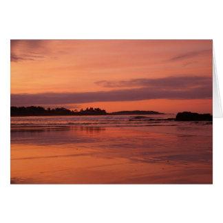 Higgins Beach Sunrise Greeting Card