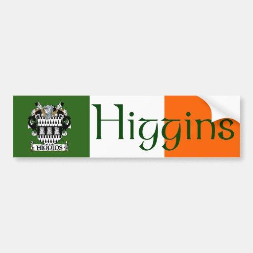 Higgins Coat of Arms Bumper Sticker