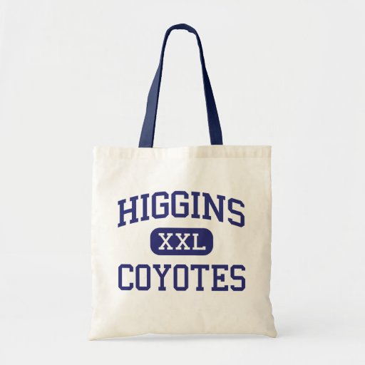 Higgins - Coyotes - High School - Higgins Texas Tote Bags