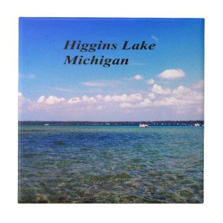 Higgins el lago Michigan Azulejo Cuadrado Pequeño