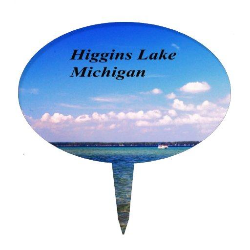 Higgins el lago Michigan Decoraciones De Tartas