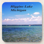 Higgins el lago Michigan Posavasos De Bebida