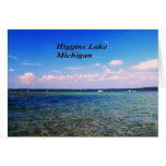 Higgins el lago Michigan Tarjeta De Felicitación