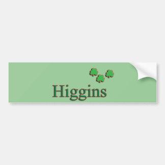 Higgins Family Bumper Sticker