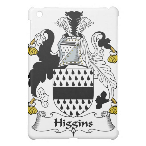 Higgins Family Crest Cover For The iPad Mini