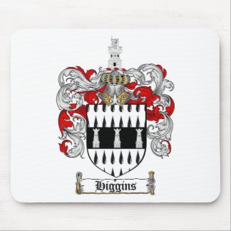 HIGGINS FAMILY CREST -  HIGGINS COAT OF ARMS MOUSE PAD