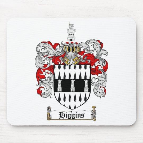 HIGGINS FAMILY CREST -  HIGGINS COAT OF ARMS MOUSE PAD