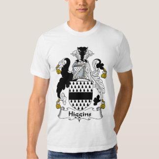 Higgins Family Crest T Shirts
