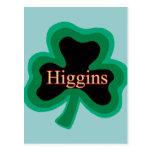 Higgins Family Post Cards