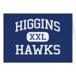 Higgins Hawks Middle Peabody Massachusetts Greeting Cards