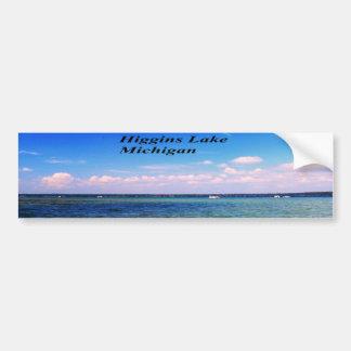 Higgins Lake Michigan Bumper Sticker