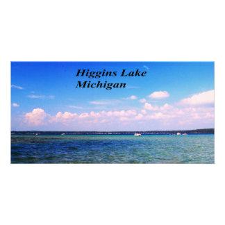 Higgins Lake Michigan Card