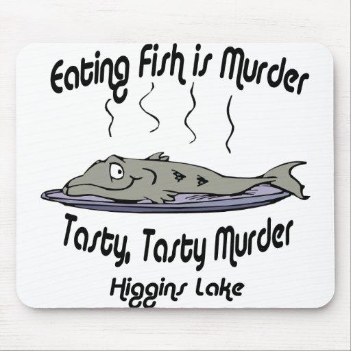 higgins murder black mouse pad