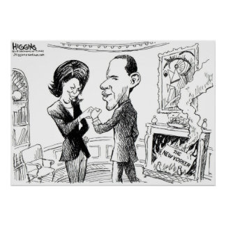 Higgins New Yorker Poster