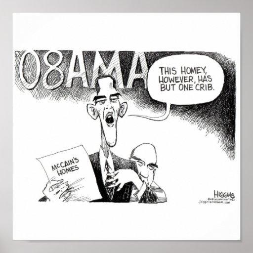 Higgins Obama's Crib Poster