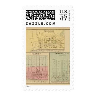 Higginsport, Ohio Postage