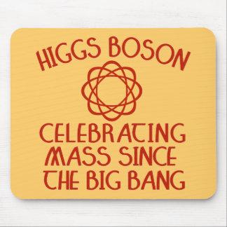 Higgs Boson Celebrating Mass Since the Big Bang Mouse Pad