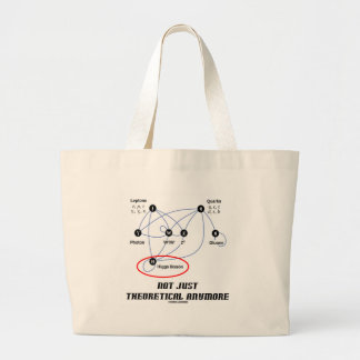 Higgs Boson Not Just Theoretical Anymore Large Tote Bag