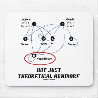 Higgs Boson Not Just Theoretical Anymore Mouse Pad