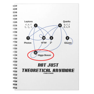 Higgs Boson Not Just Theoretical Anymore Notebook