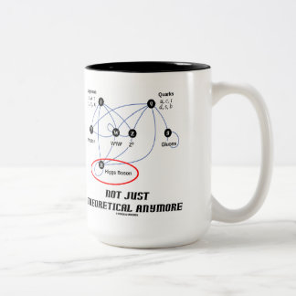Higgs Boson Not Just Theoretical Anymore Two-Tone Coffee Mug