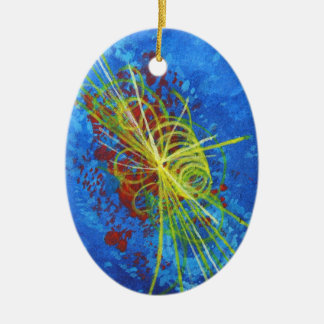 Higgs Boson Particle Holiday Ornament