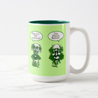 Higgs Boson Physics Humor Gifts Two-Tone Coffee Mug